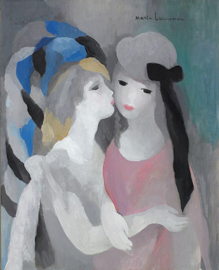 〈키스〉 캔버스에 유채 1927