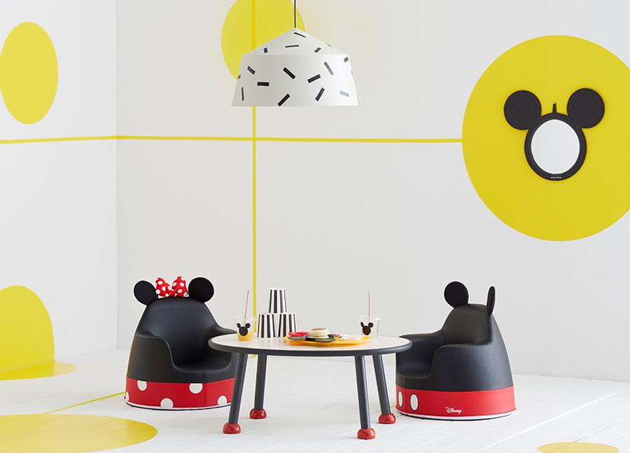 미키, 미니마우스이 떠오르는 일룸과 디즈니의 협업 가구 (사진 출처: 일룸 홈페이지)