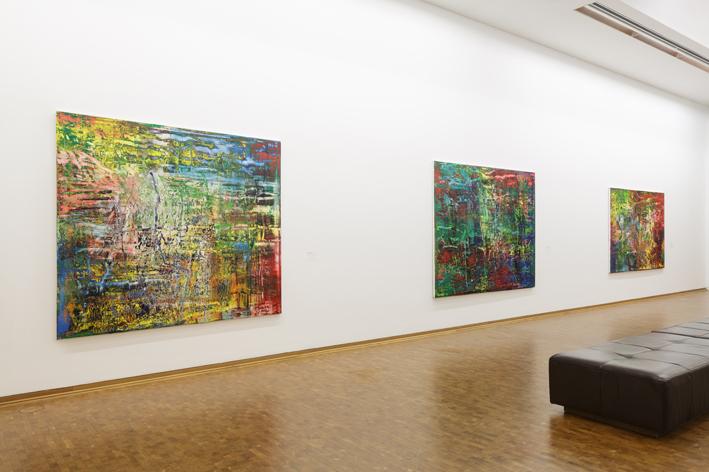 전시전경 ⓒ Gerhard Richter: New Paintings Museum Ludwig Cologne, 2017 Photo: Rheinisches Bildarchiv Koeln/ Britta Schlier