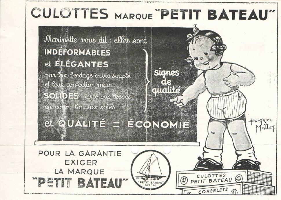 Culottes marque Petit Bateau