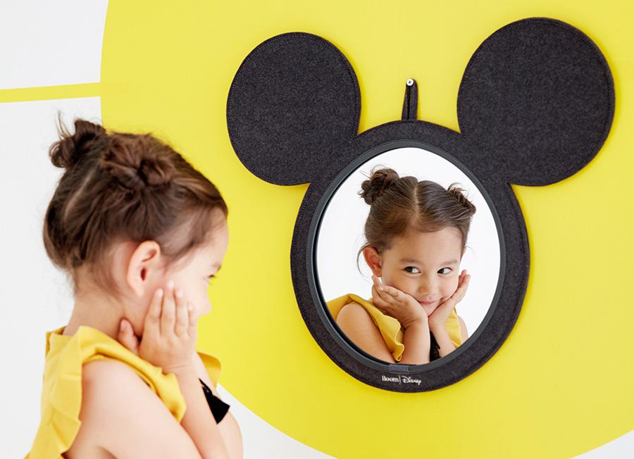 미키마우스 얼굴 형태의 안전 거울 (사진 출처: 일룸 홈페이지)