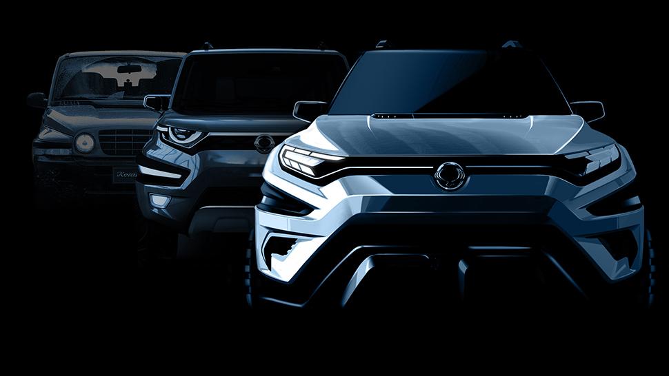 쌍용자동차가 3월 제네바모터쇼를 통해 콘셉트카 XAVL을 최초로 공개하고 XAVL의 렌더링 이미지를 20일 공개했다.(사진제공: 쌍용자동차)