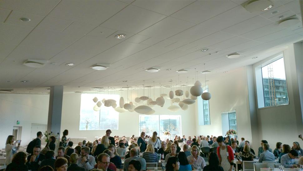 전 임직원이 참여하는 노르딕 워크숍(Nordic workshop) 진행 현장
