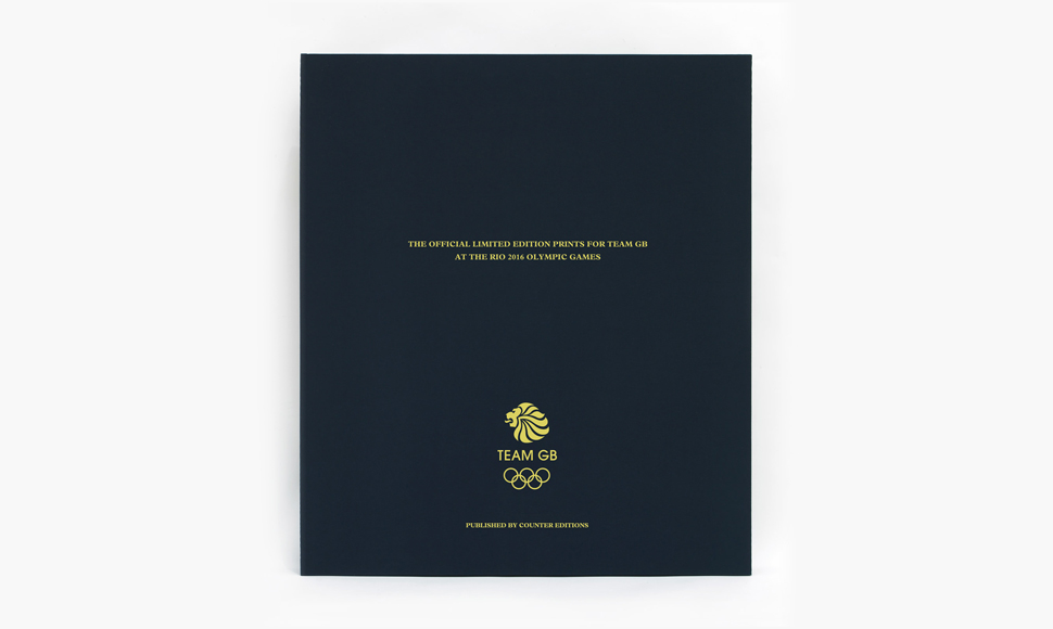 The official limited edition prints for Team GB at the Rio 2016 Olympic Games, available exclusively from countereditions.com. ⓒCounter Editions