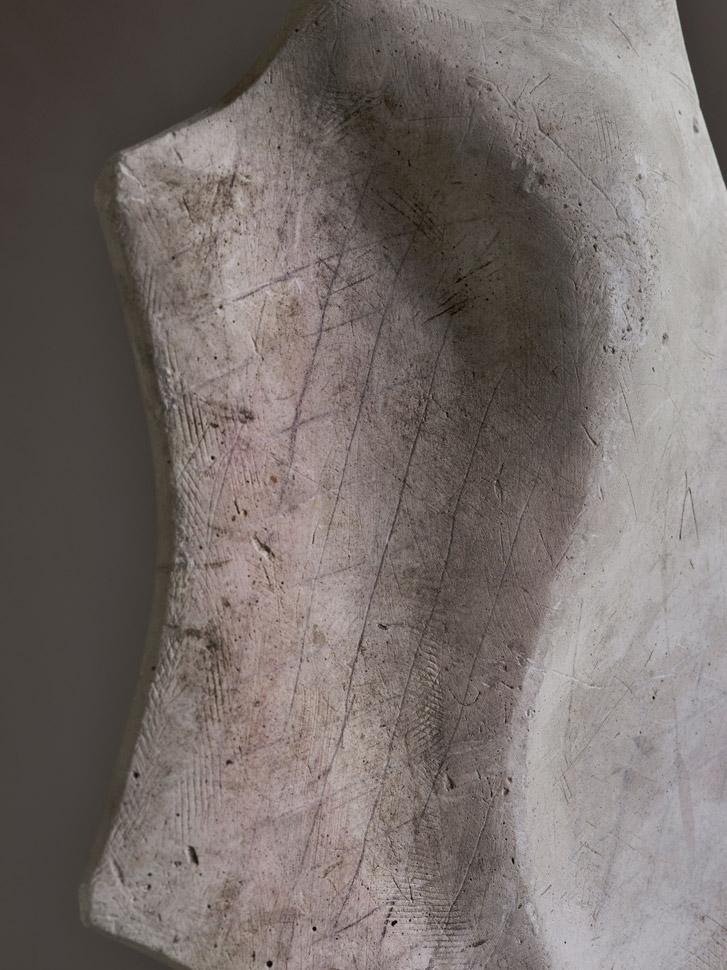 〈누워있는 조각가의 시간〉, 아카이벌 피그먼트 프린트, 68x51cm, 2016