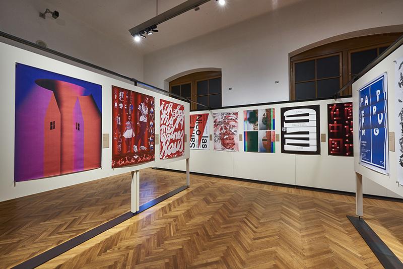 =(전경3) MAK-Ausstellungsansicht, 2017. 100 BESTE PLAKATE 16. Deutschland Ö sterreich Schweiz MAK-Kunstblättersaal © MAK/Georg Mayer