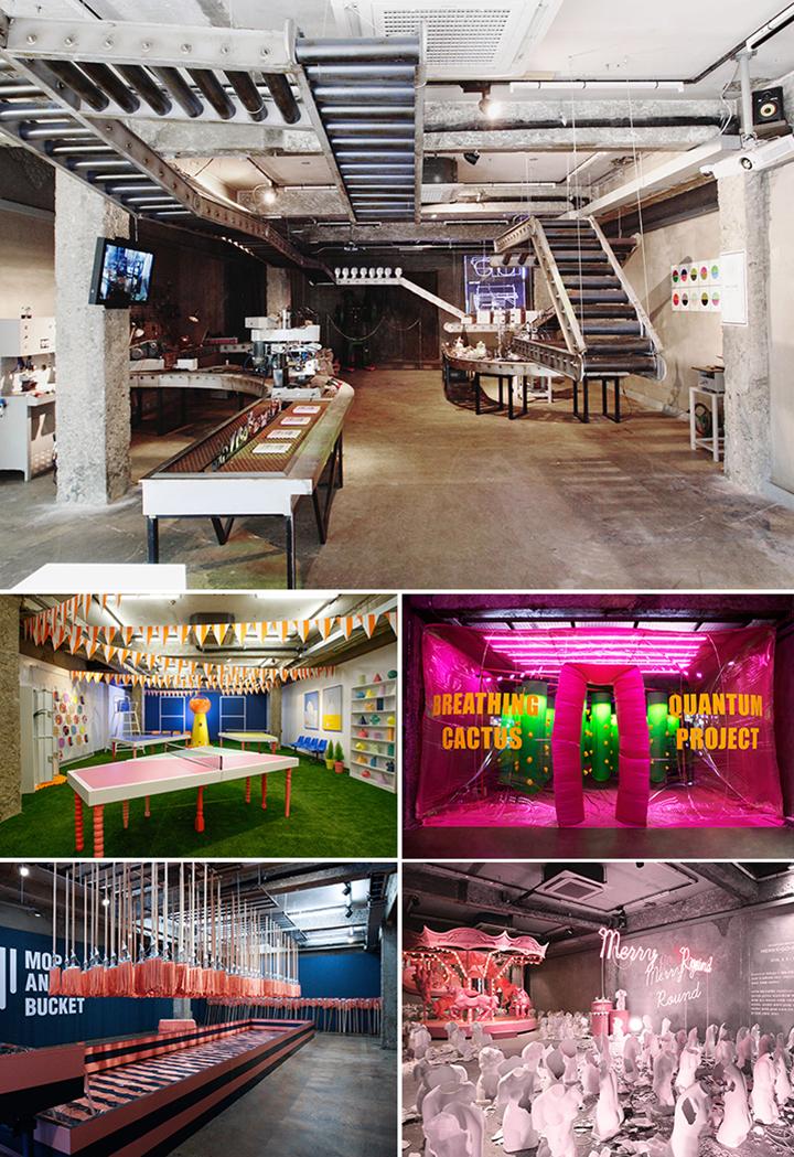 FAST SPACE 프로젝트 '퀀텀 프로젝트'가 진행되는 홍대 쇼룸에서는 지금까지 27가지의 프로젝트를 선보였으며 지속적인 변화를 통해 상업적인 공간의 진화된 모습을 보여주고 있다.