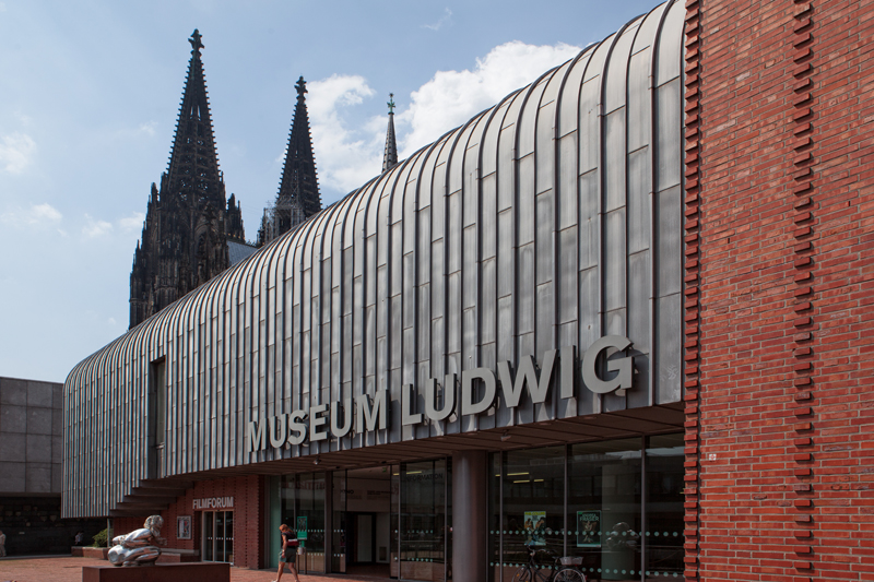 루드비히 미술관 외관 ⓒ Museum Ludwig, Photo: Lee M.