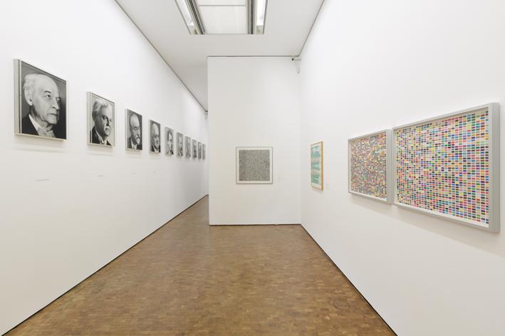Installation view Gerhard Richter: New Paintings Museum Ludwig Cologne, 2017 Photo: Rheinisches Bildarchiv Koeln/ Britta Schlier