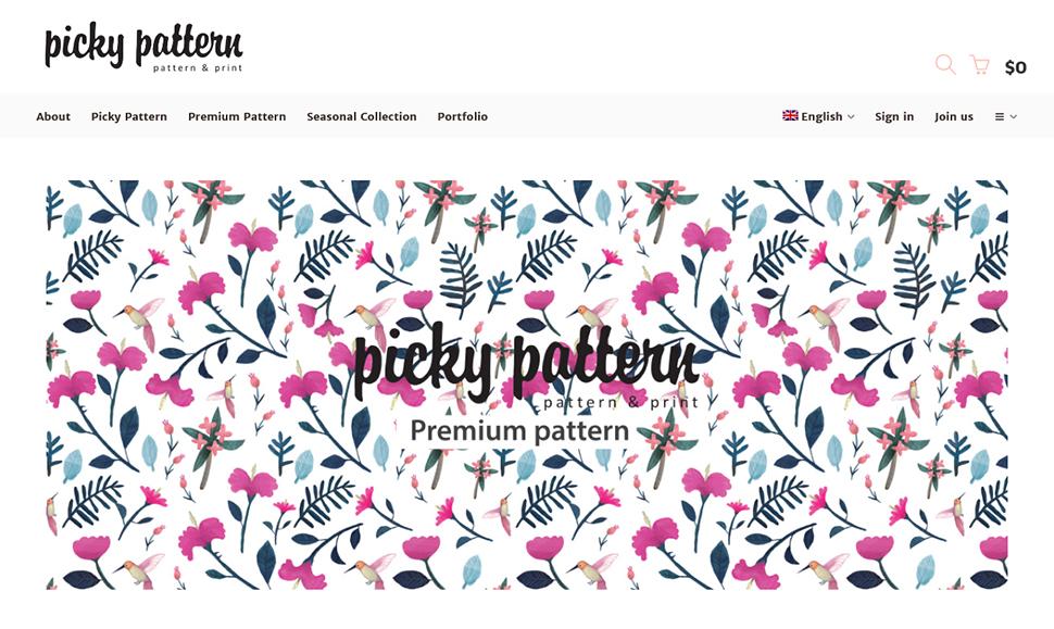 피키패턴은 국내 최초로 패턴디자인을 판매하는 서비스를 선보인다.