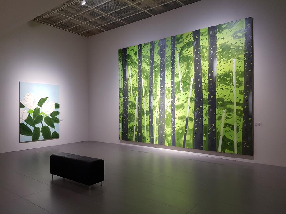 'Landscapes & Flowers' 전시장 전경
