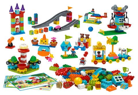 STEAM 파크 학습을 위한 듀플로 블록 (사진 제공: 레고 에듀케이션) ©2017 The LEGO Group