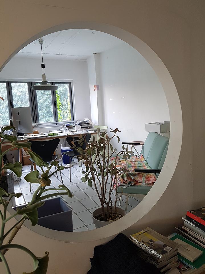 다양한 식물들이 자연스럽게 어우러진 베리띵즈의 스튜디오
