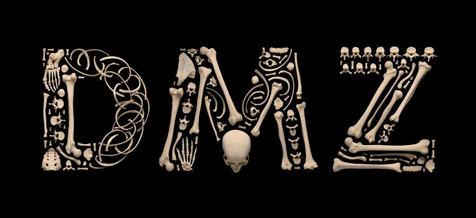 〈DMZ〉, 사진집 출간을 위해 작가가 새로 작업한 사진이다. 프랑수아 로베르의 'Stop The Violence' 연작의 특징은 뼈로 만든 형태가 아름답게 느껴질 때가 있다는 점이다. 잔인함과 공포, 강렬함, 아름다움 등 섞일 수 없는 여러 감정이 한 작품 안에서 느껴진다.