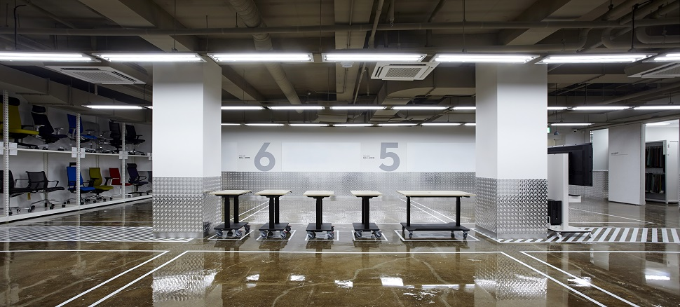 B1층 목업실