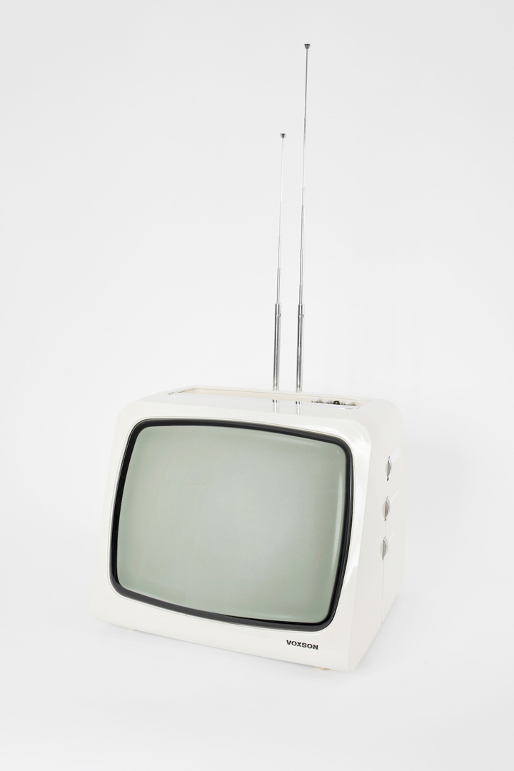 루돌포 보네토(Rodolfo Bonetto)가 디자인한 '복슨 1202(Voxson 1202)' 텔레비전. 1972년 생산. Photo: ⓒ Miriam Raneburger
