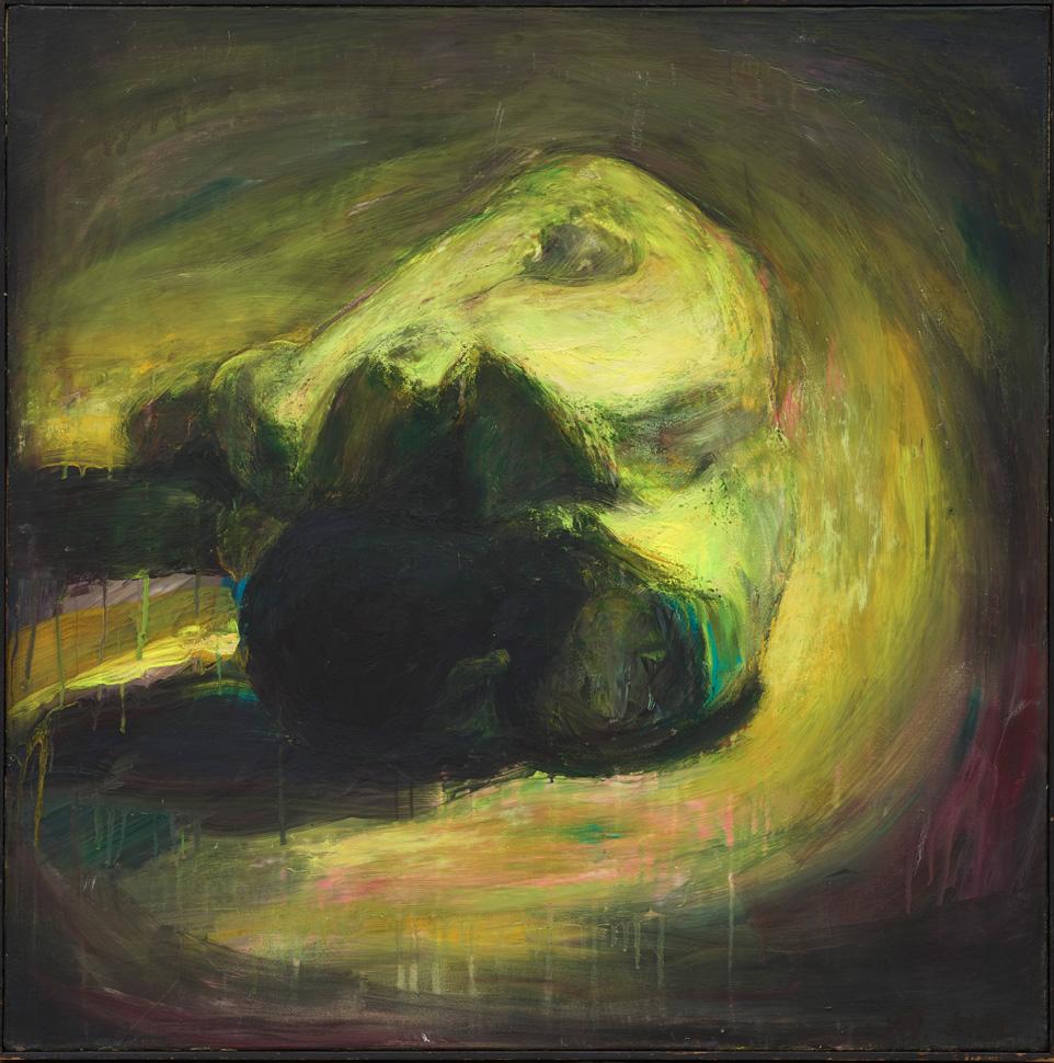 오치균, 〈A Figure〉, 1989