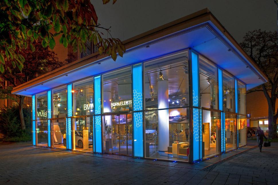 BMW Pavillon ©BMW Lenbachplatz
