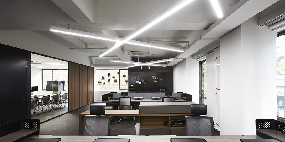 3층 사무 가구 브랜드 퍼시스 연구소