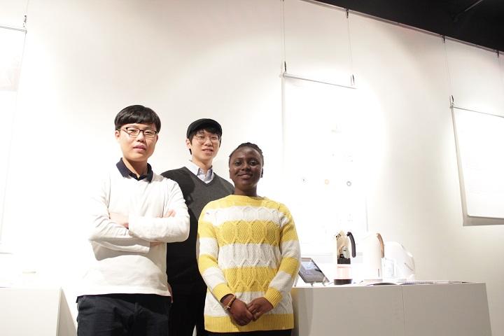 에코인토트사와 함께 공기살균기 플루건을 개발 제작한 팀 Alpha
