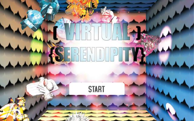 버츄얼 세렌디피티 Virtual Serendipity, Interactive media installation, 2014.jpg