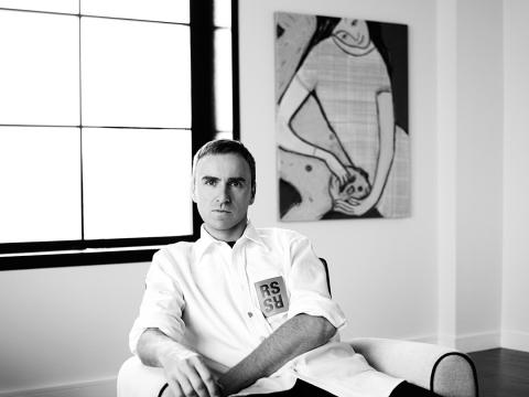 캘빈클라인의 새로운 크리에이티브 책임자로 임명된 라프 시몬스 (사진제공: Calvin Klein Inc, ⓒ Willy Vanderperre)