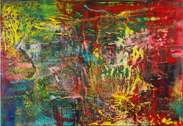 Abstract Painting (946-3), 2016 Oil on canvas 175 x 250 cm ⓒ Gerhard Richter 2016 (221116)