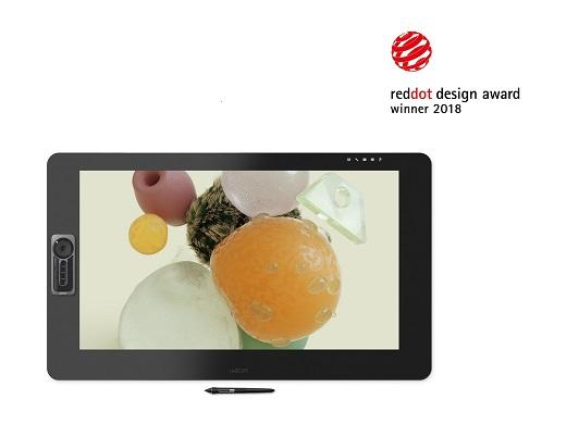 와콤이 레드닷 디자인 어워드 2018에서 6개 제품으로 수상했다.(사진제공: 와콤)