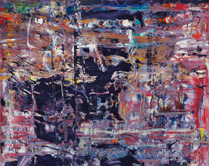 Abstract Painting (947-2), 2016 Oil on wood 40 x 50 cm ⓒ Gerhard Richter 2016 (221116)