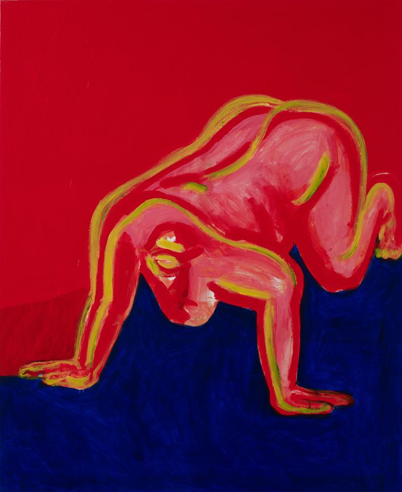 서용선, 〈개사람2〉, 2008