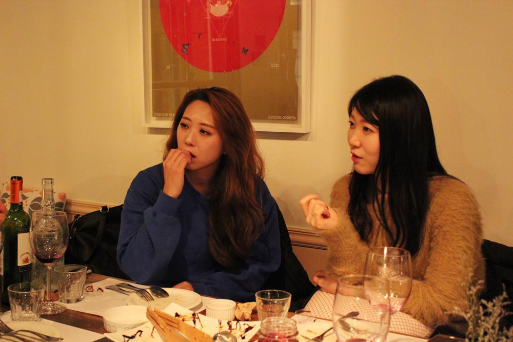 양반김 김동희 작가(좌측), 양진영 작가(우측)