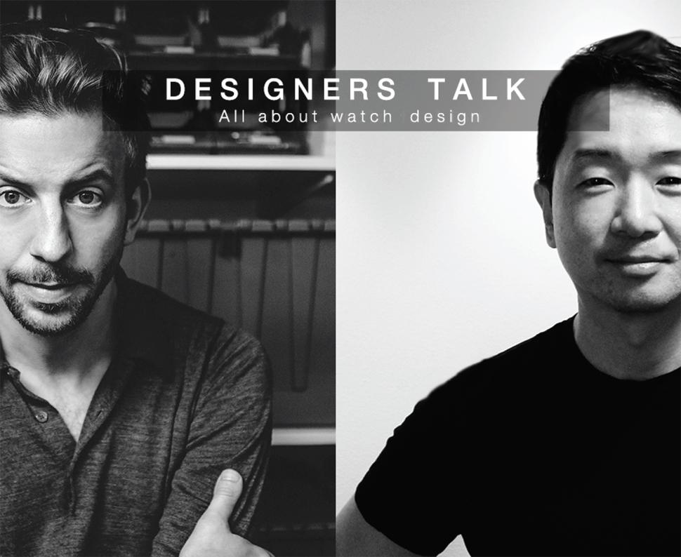 디자이너 토크를 함께 진행한 보이드 워치(VOID WATCH) 대표, 데이비드 에릭슨(Davis Ericsson) (왼쪽)과 필자(오른쪽) ⓒ VOID WATCH