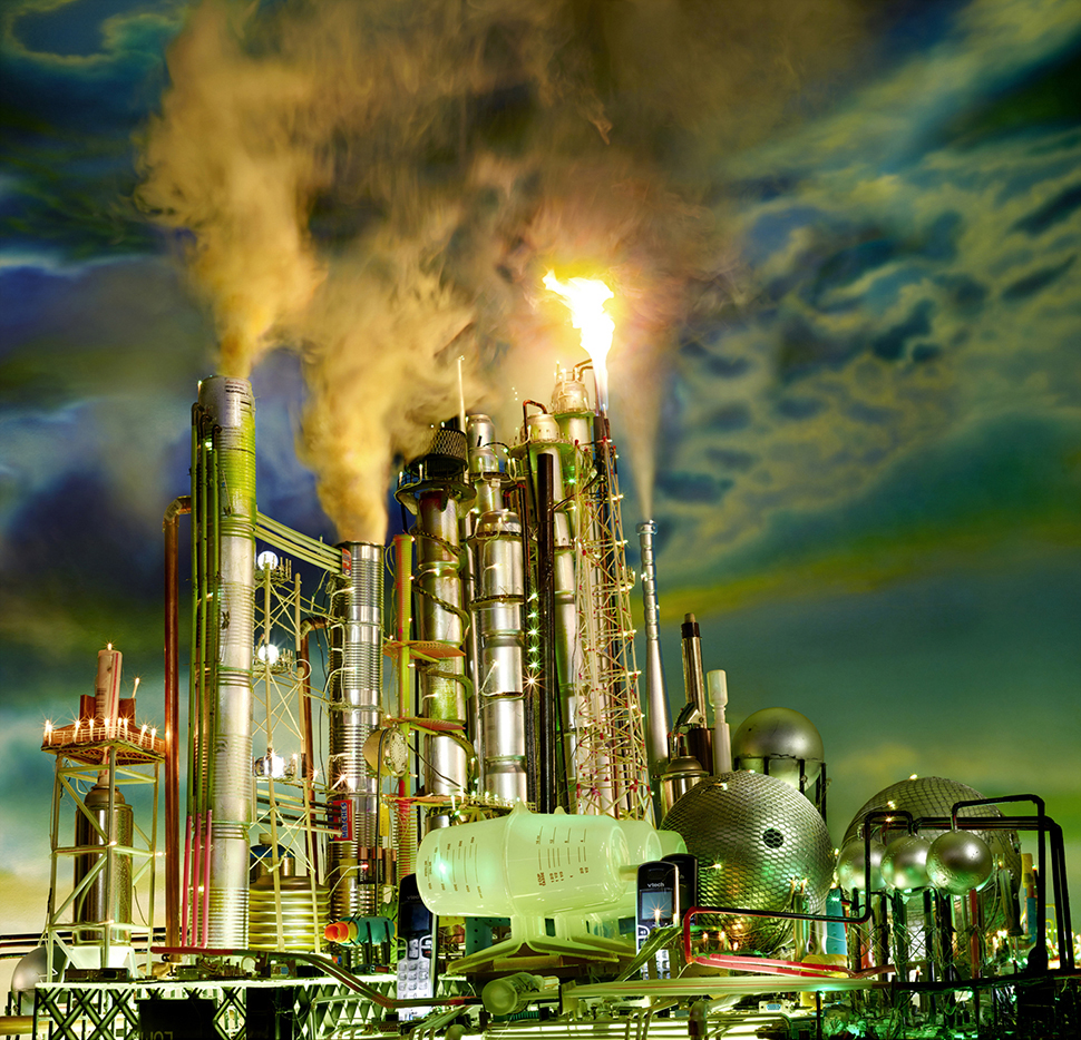 데이비드 라샤펠, Land Scape Green Fields; Los Angeles, 2013 Refinery ⓒ David LaChapelle