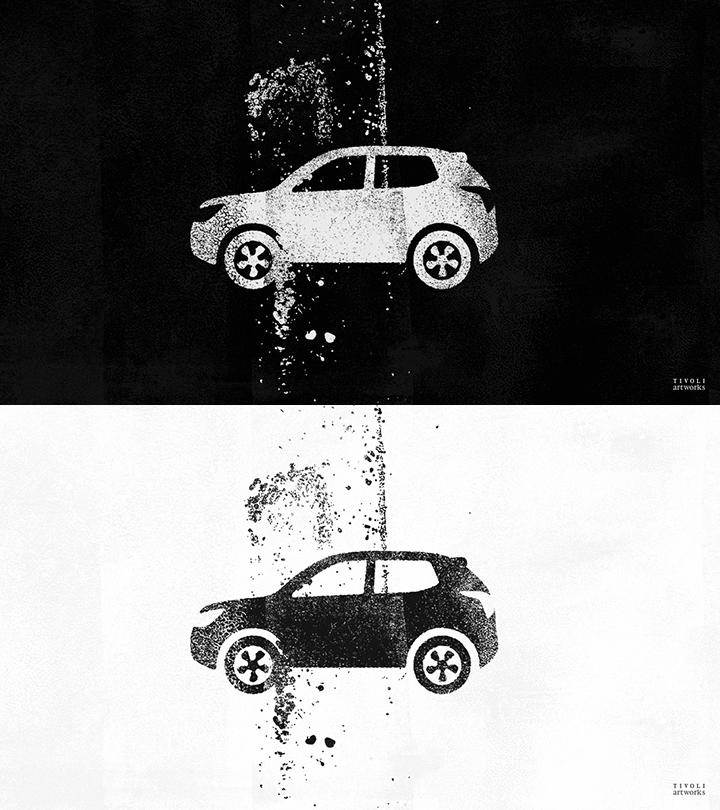 티볼리의 자동차 브랜드 전용 컬렉션 티볼리 아트웍스