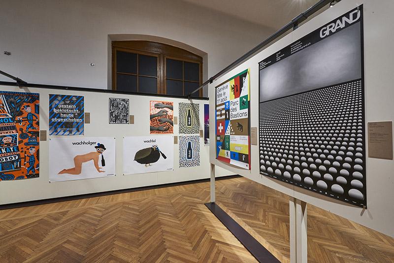 =(전경2) MAK-Ausstellungsansicht, 2017. 100 BESTE PLAKATE 16. Deutschland Ö sterreich Schweiz MAK-Kunstblättersaal © MAK/Georg Mayer