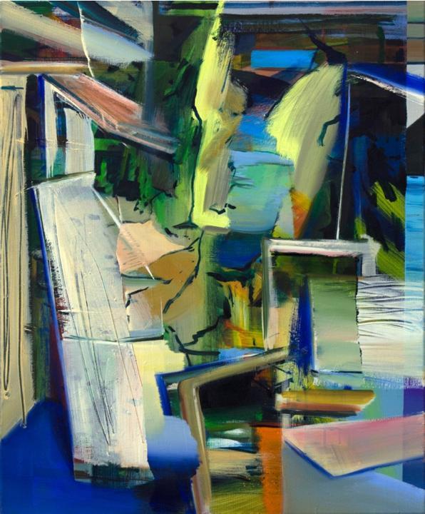 이윤서_망설이는 Hesitated_oil on canvas_60.6 x 50.0cm_2017