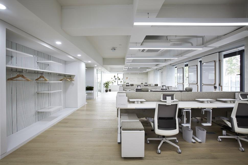 일룸 연구소의 사무공간