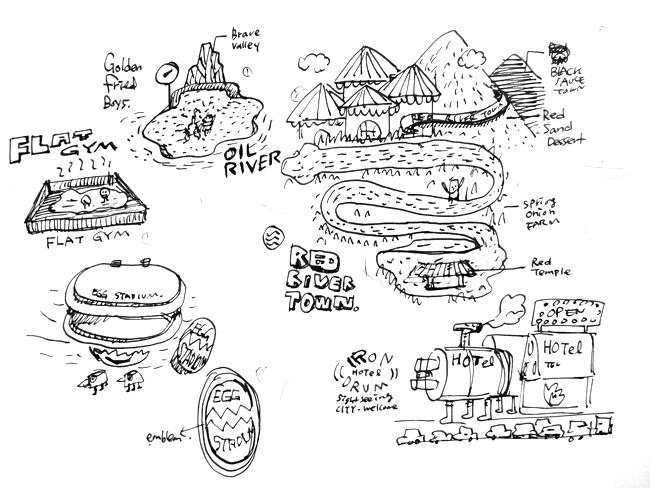 스파이시워크숍의 스케치 이미지