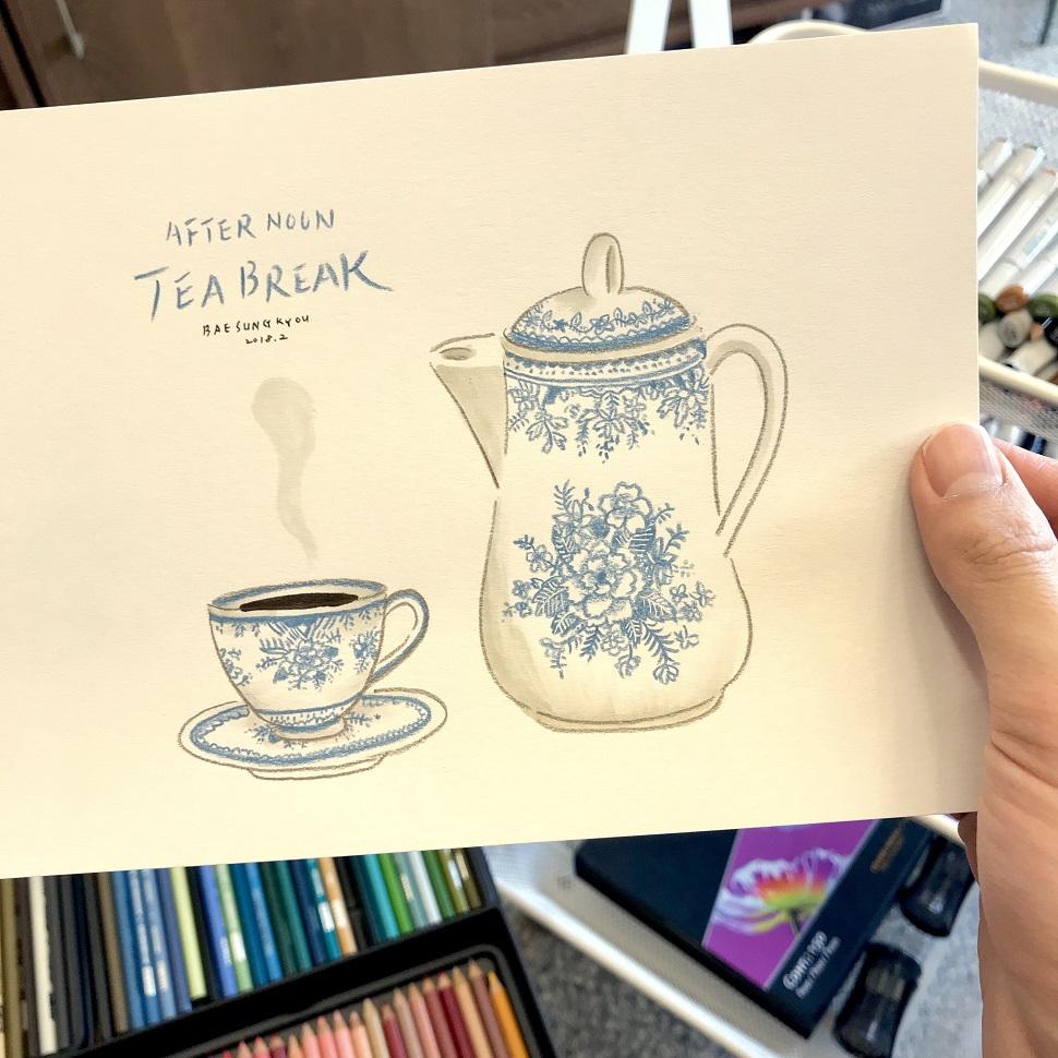마카와 색연필©배성규