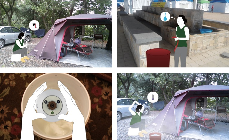 서브마리너의 일상생활 사용 시뮬레이션