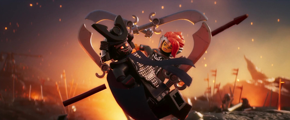 〈레고 닌자고 무비〉의 장면