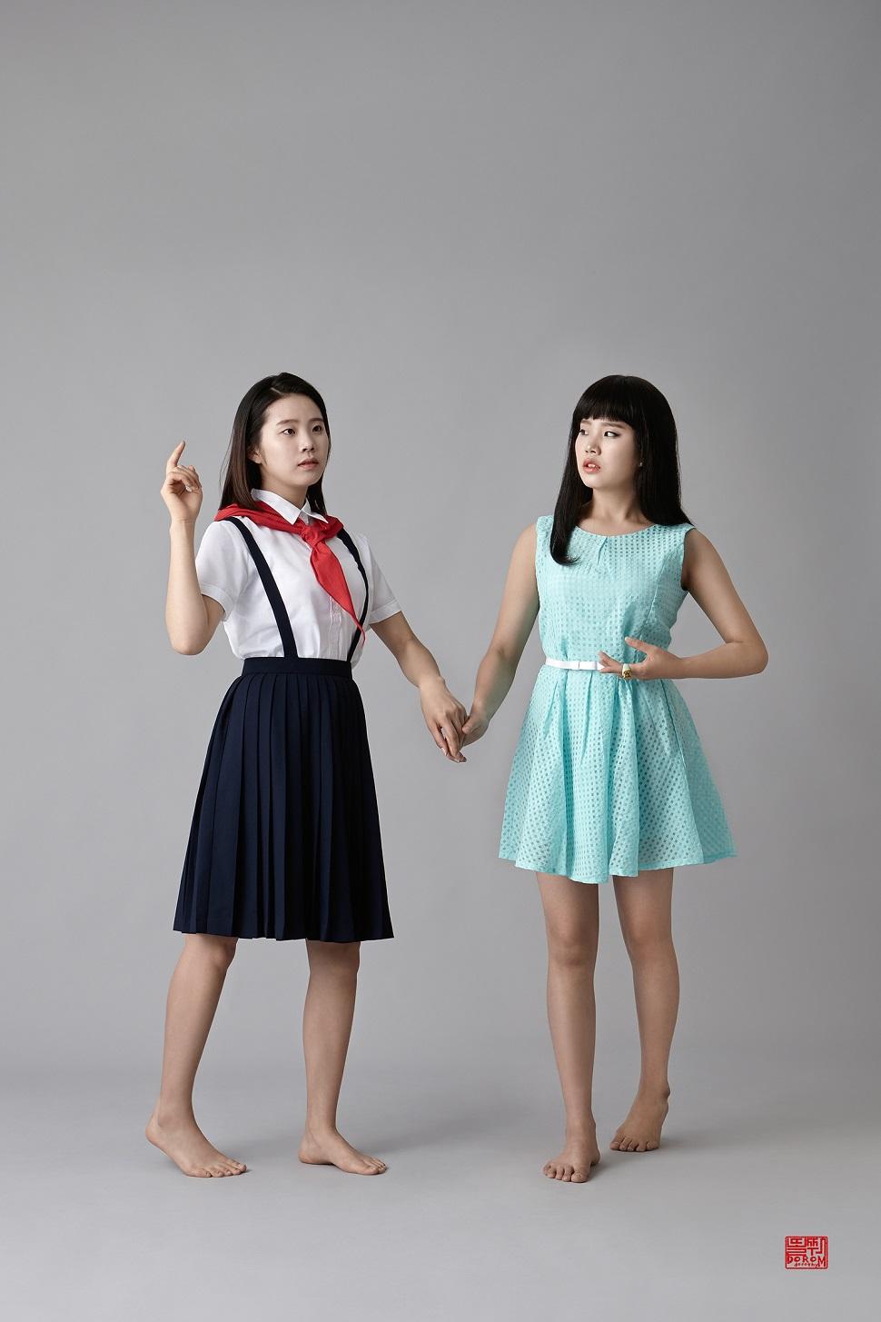 도로시엠윤 / 윤희&윤희, 150x100cm, 디지털 프린팅, 2015