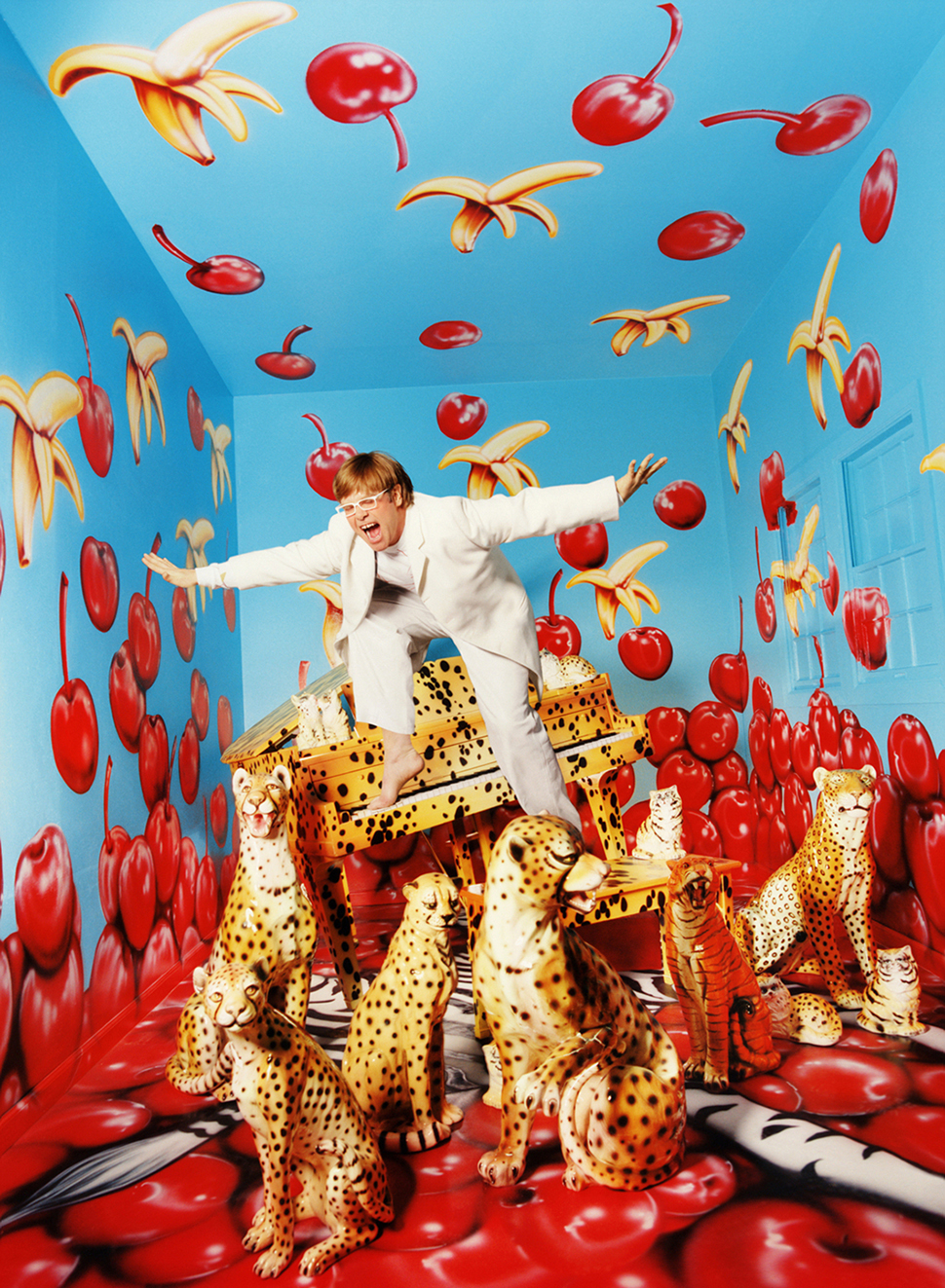 데이비드 라샤펠, Elton John Never, Enough, Never Enough; New York, 1997 ⓒ David LaChapelle