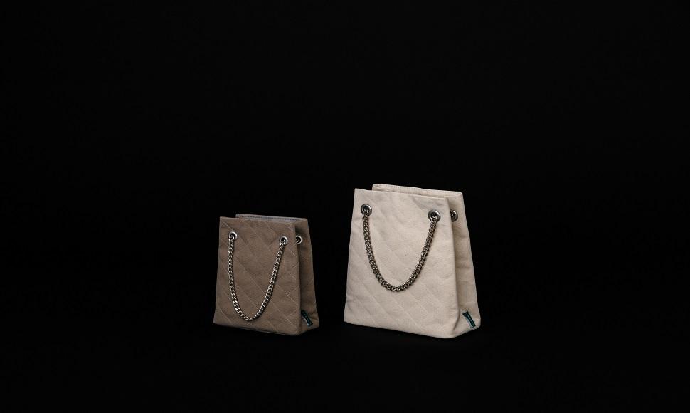 템베아(TEMBEA) 퀼트 도트 백(Quilt tote bag)