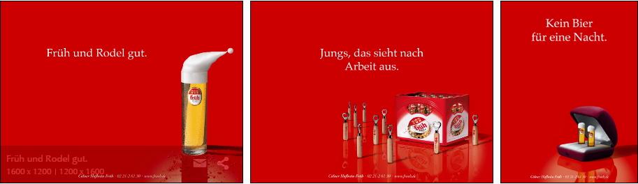 프뤼의 광고 마케팅 ⓒ Colner Hofbräu Fruh