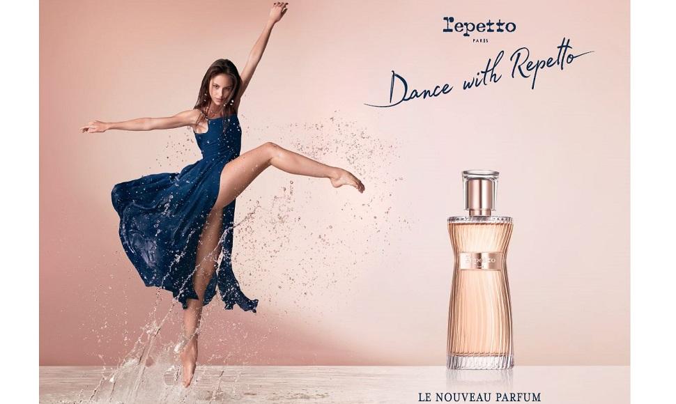 레페토(Repetto)의 새로운 향수 '댄스 위드 레페토(Dance with Repetto)'(사진제공: 레페토)