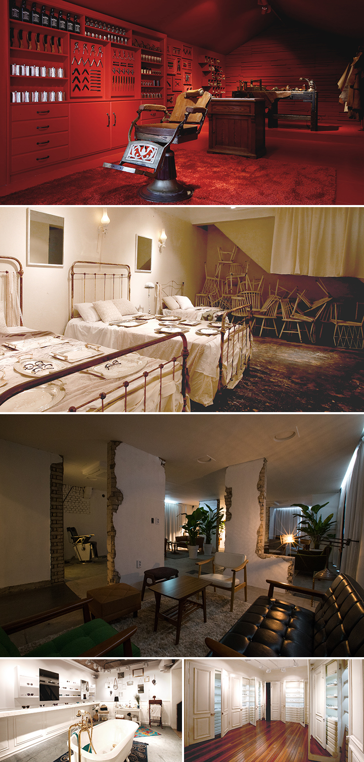 'HOME AND RECOVERY'를 주제로'집'과 '치유', 이와 정서적인 맥락을 함께하는 공간들이 교집합 돼있는 신사 가로수길 쇼룸