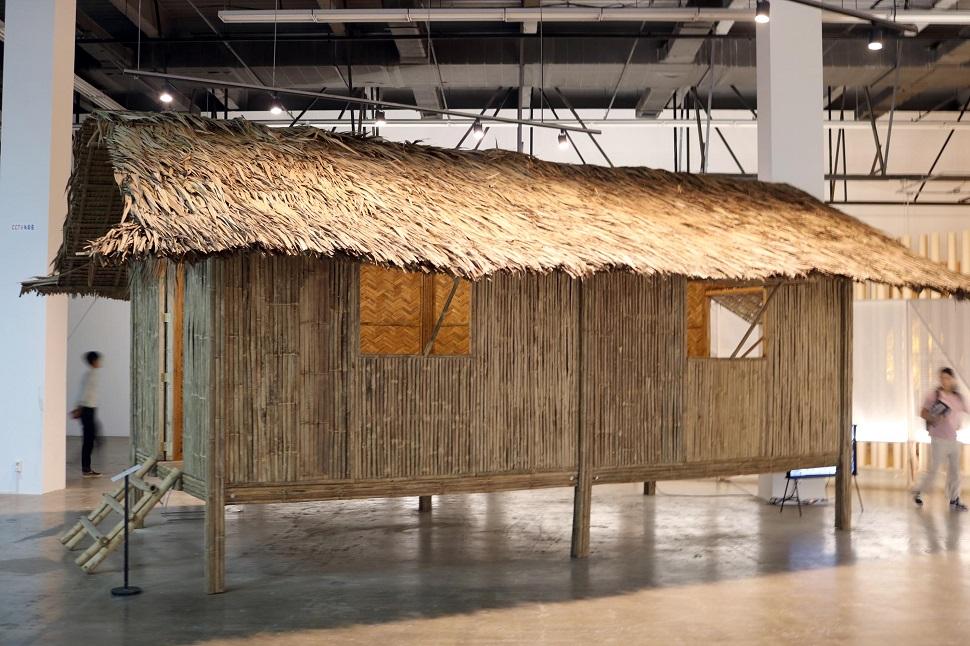 필리핀 전통 가옥 니파 헛