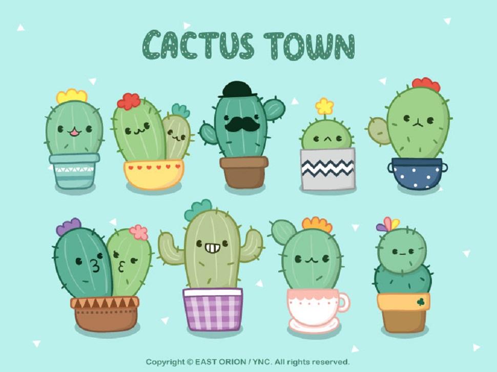 Cactus 캐릭터(사진제공: 유니드캐릭터)