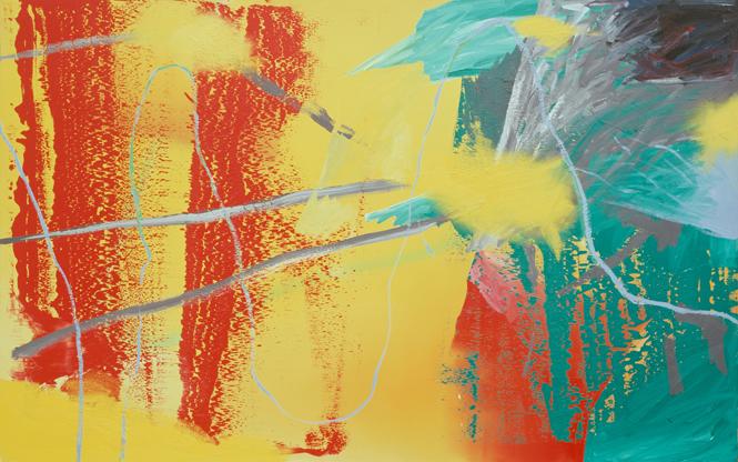 Gerhard Richter  War, 1981  Oil on canvas  200 x 320 cm  ⓒ Gerhard Richter 2017 (221116)  Photo: Rheinisches Bildarchiv Köln